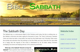 The Bible Sabbath