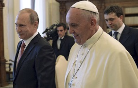 Putin and Pope Meet
